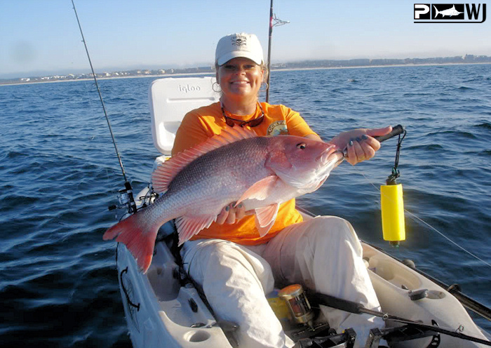 The waterman 39 s journal global sportfishing news reports for Kayak fishing florida